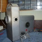 Lampa łukowa produkcji niemieckiej firmy Spindler & Hoyer.