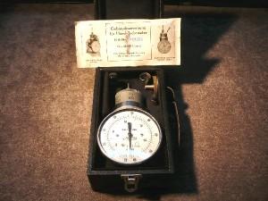 Ręczny przyrząd do pomiaru prędkości obrotowej produkcji niemieckiej.