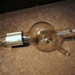 Szkolna lampa próżniowa RTG.